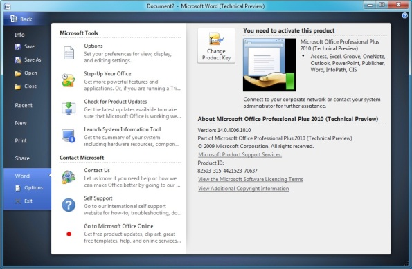 how to download word 2010